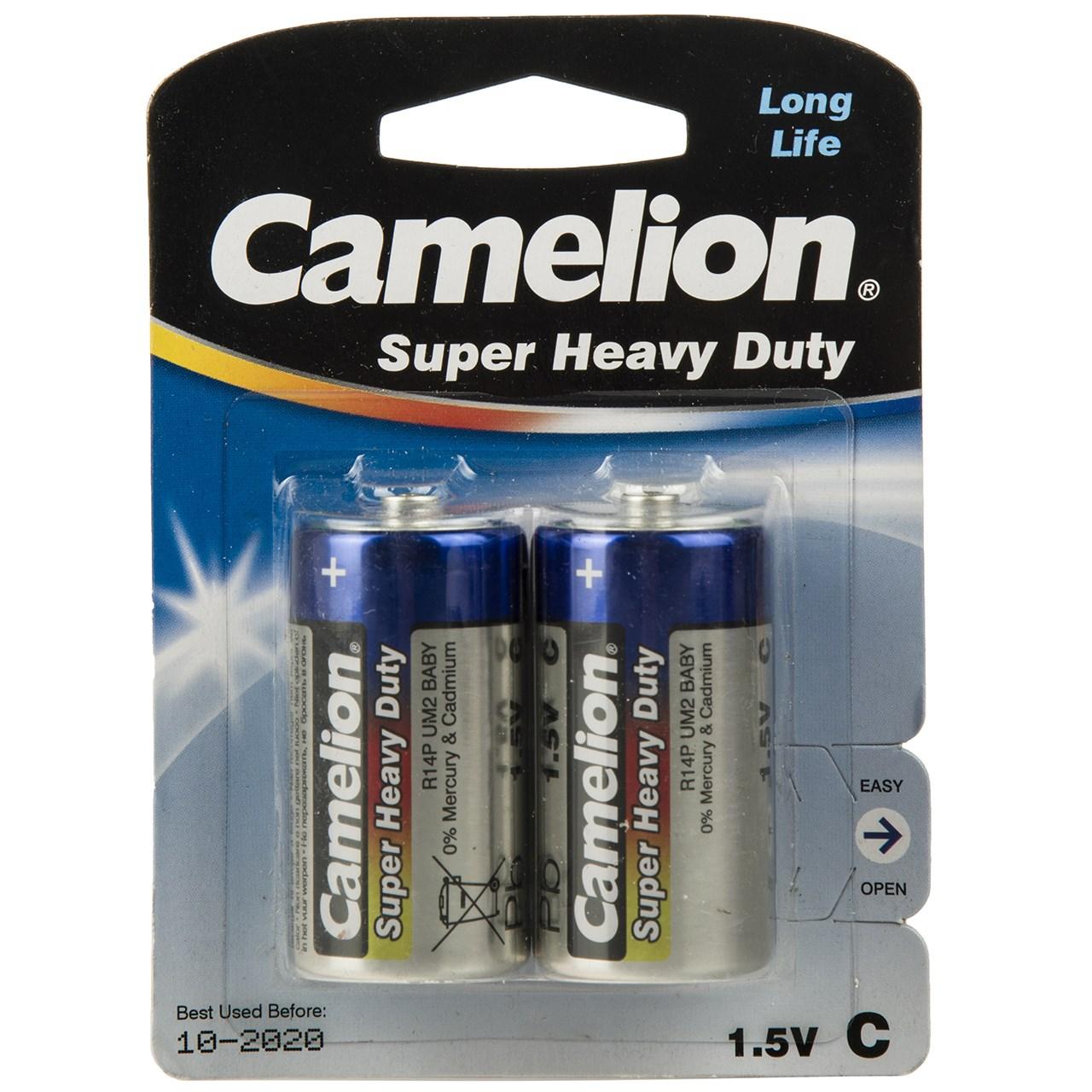 باتری C کملیون مدل Super Heavy Duty بسته 2 عددی