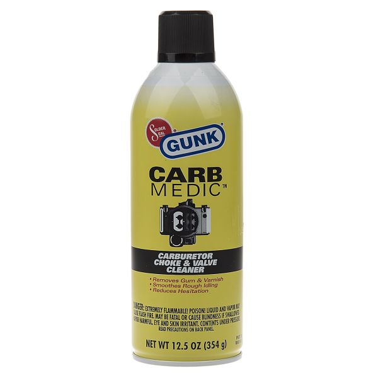 اسپری خودرو گانک مدل Carb Cleaner حجم 354 گرم