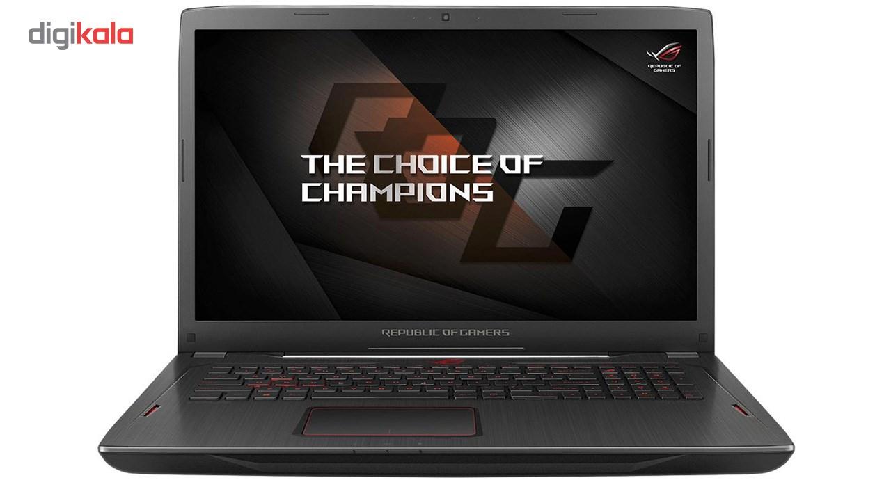 لپ تاپ 17 اینچی ایسوس مدل ROG GL702ZC - C