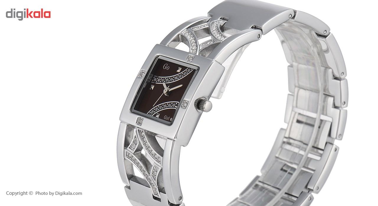 ساعت مچی عقربه ای زنانه جی او مدل 694020