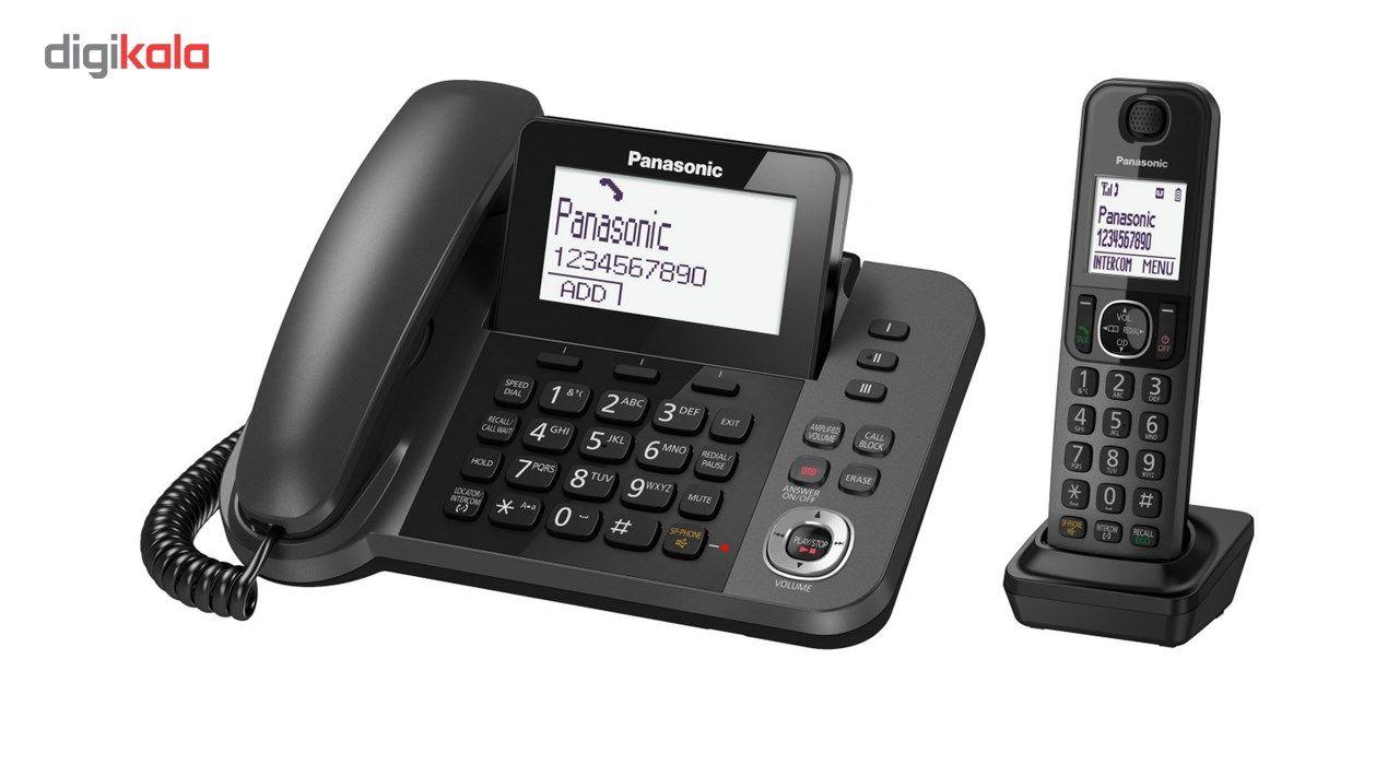 تلفن بیسیم پاناسونیک مدل KX-TGF320 main 1 2
