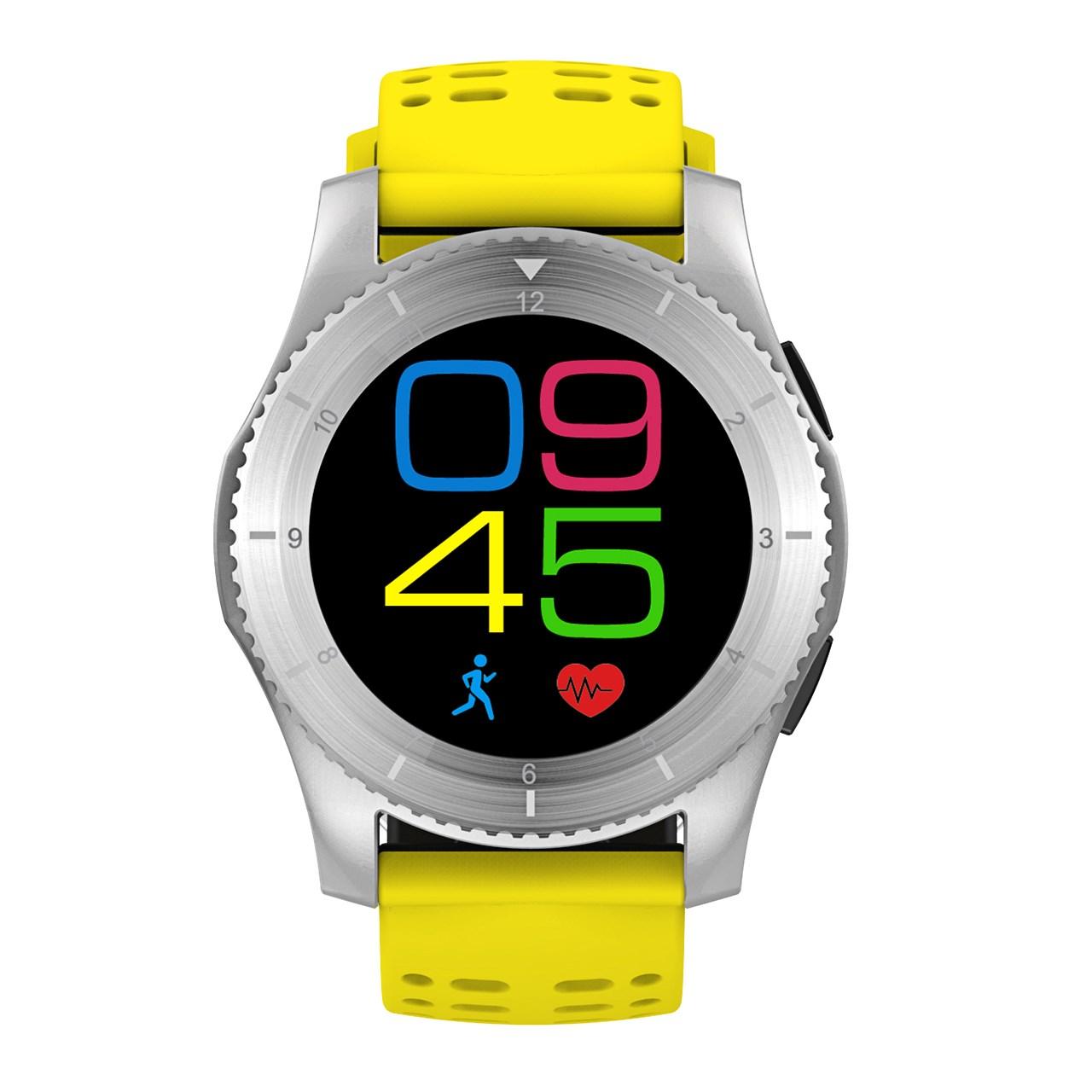عکس ساعت هوشمند دابل سیکس مدل G8 Titanium