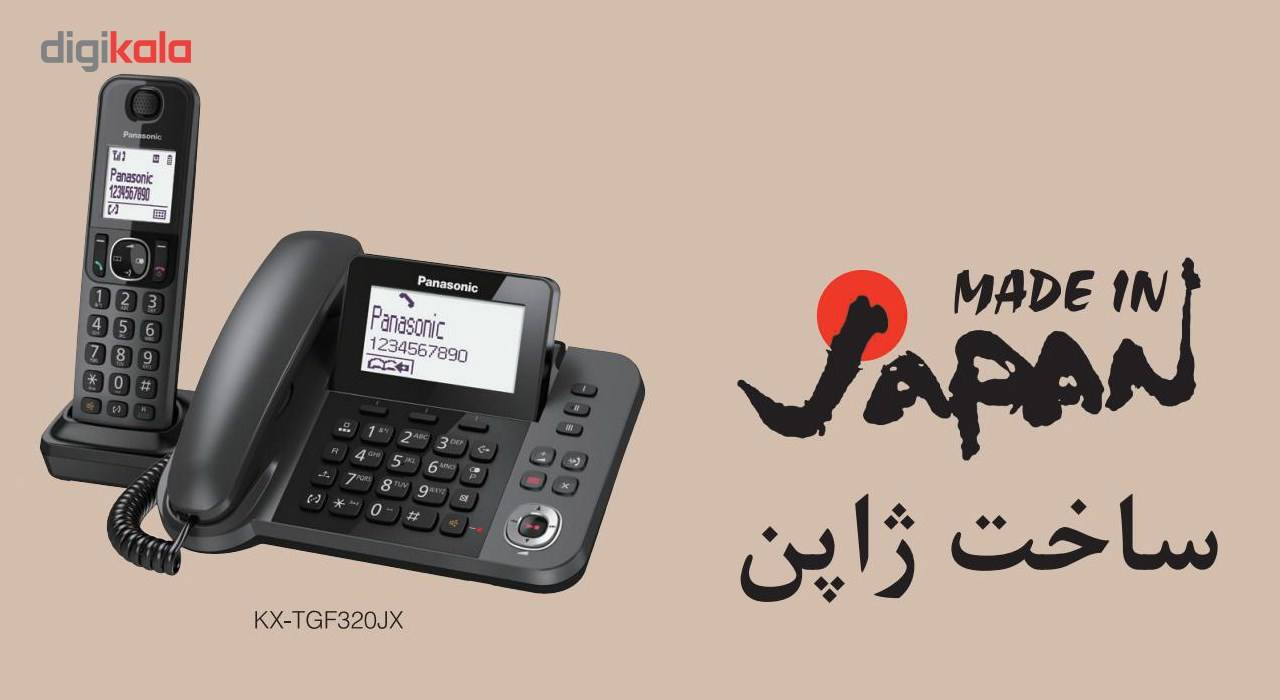تلفن بیسیم پاناسونیک مدل KX-TGF320 main 1 4