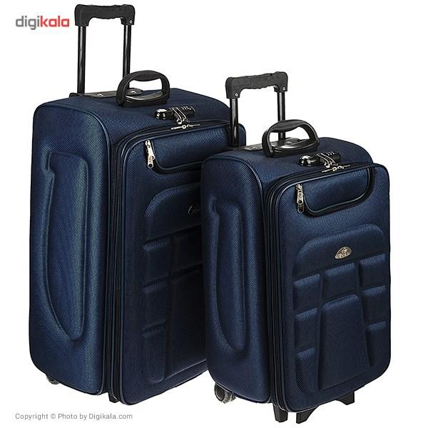خرید                     مجموعه دو عددی چمدان پولو