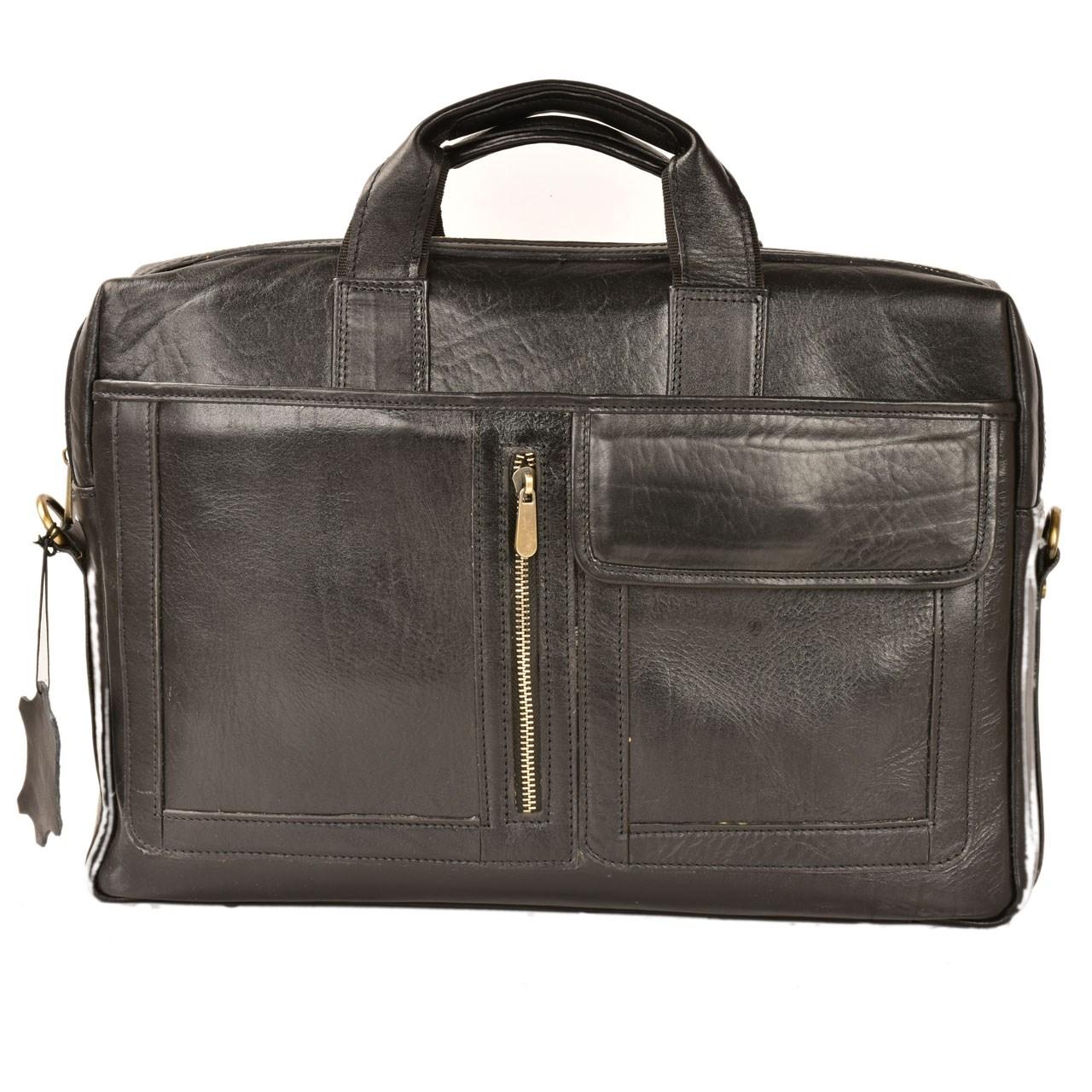 کیف اداری کهن چرم مدل L67