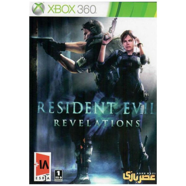 بازی Resident Evil Revelation مخصوص ایکس باکس 360