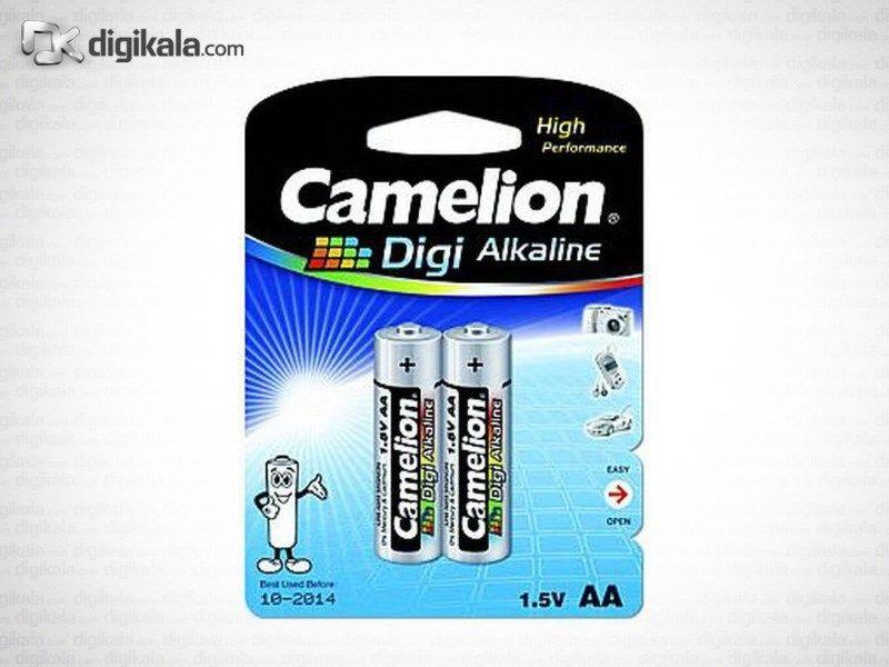 باتری قلمی کملیون مدل Digi Alkaline LR6-BP2DGP بسته 2 عددی main 1 1