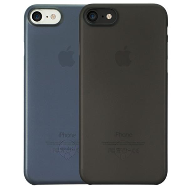کاور اوزاکی مدل Ocoat 0.3 Jelly 2 In 1 Black مناسب برای گوشی موبایل آیفون 8/7