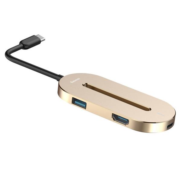 هاب USB-C باسئوس مدل O Hub
