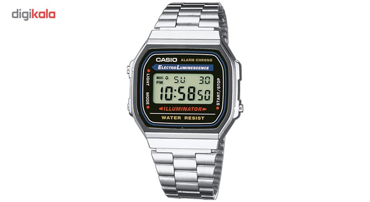 خرید ساعت مچی دیجیتالی مردانه کاسیو مدل A168WA-1WDF | ساعت مچی