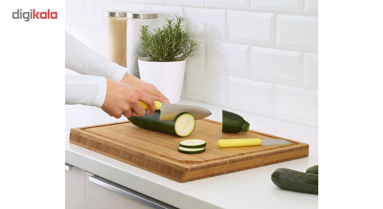 چاقو آشپزخانه ایکیا مدل Fordobbla مجموعه 2 عددی main 1 2