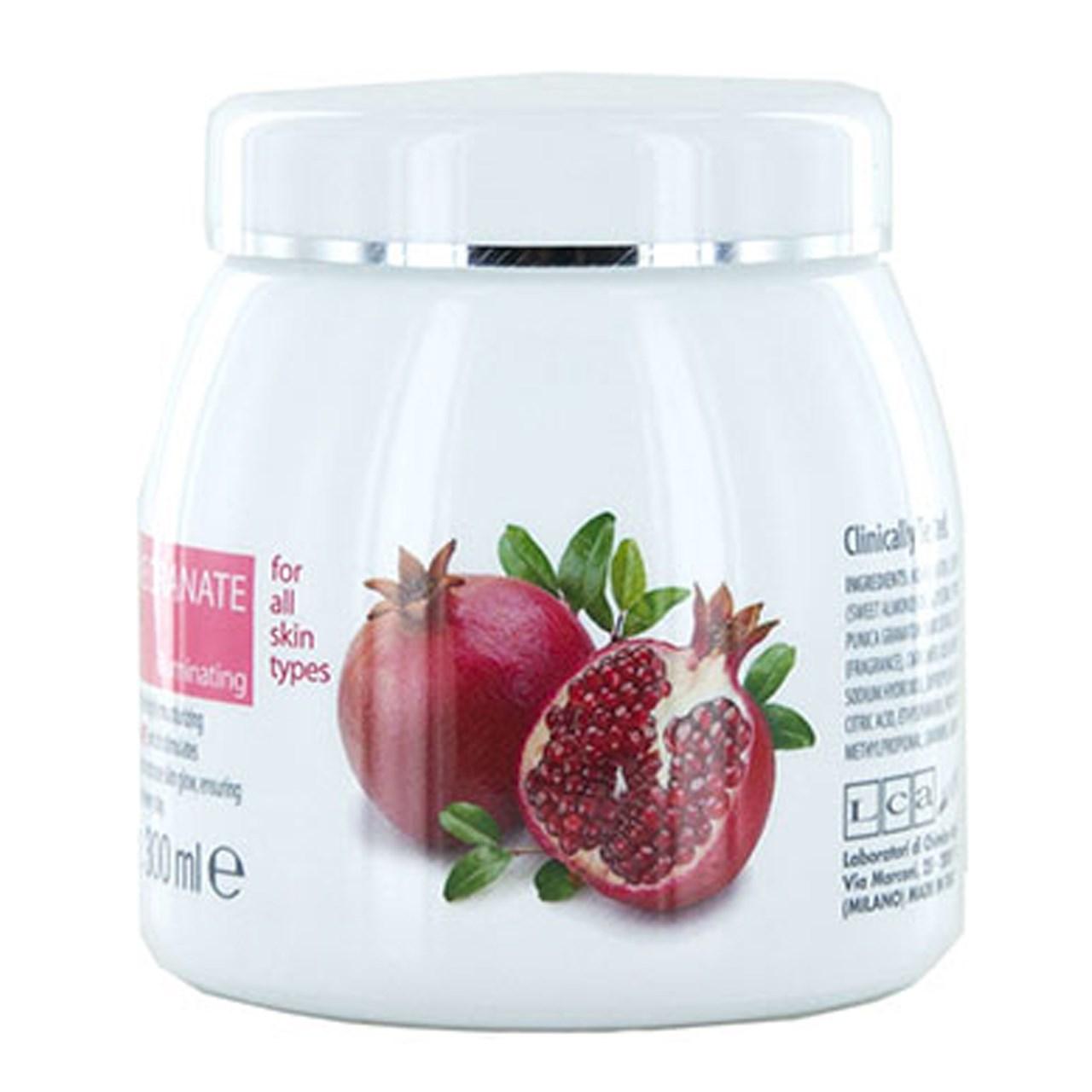 قیمت کرم صورت آبرسان و شفاف کننده کلیون مدل  Pomegranate Juice Face Cream حجم 300میلی لیتر