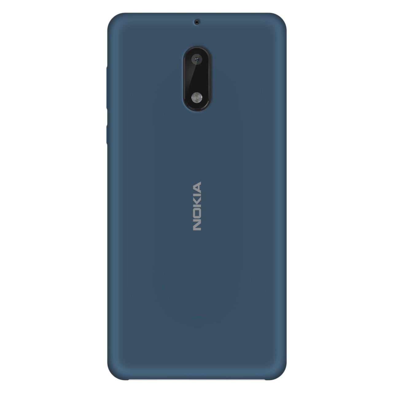 کاور سیلیکونی مناسب برای گوشی موبایل نوکیا 6                     غیر اصل