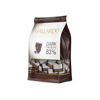 شکلات تلخ 83 درصد گالاردو فرمند - 330 گرم