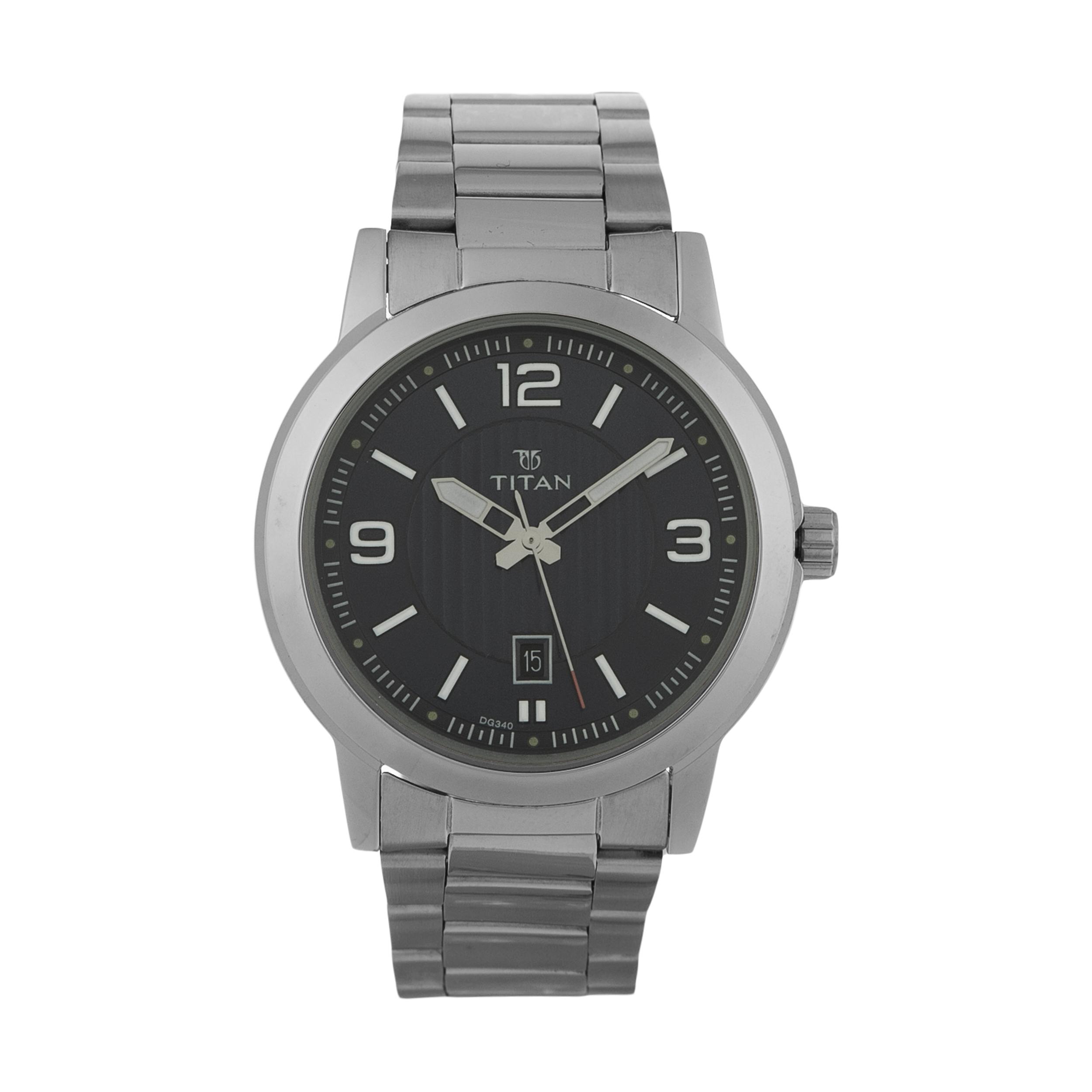 قیمت و خرید                      ساعت مچی عقربه ای مردانه تایتن مدل T1730SM03
