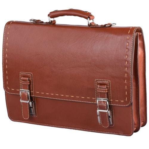 کیف اداری چرم طبیعی کهن چرم مدل L63