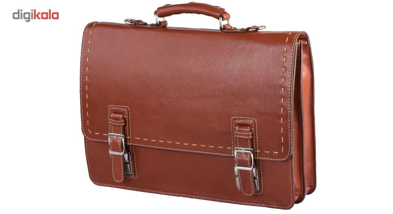 کیف اداری چرم طبیعی کهن چرم مدل L63 main 1 1