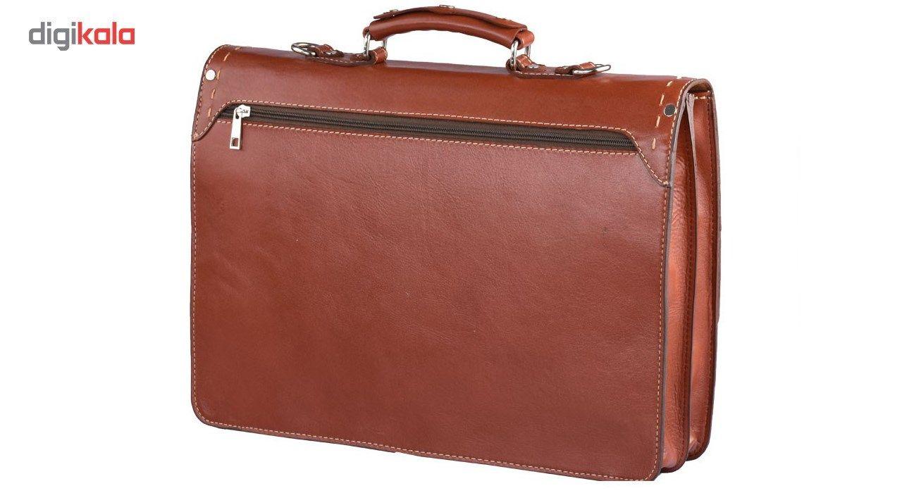 کیف اداری چرم طبیعی کهن چرم مدل L63 main 1 2