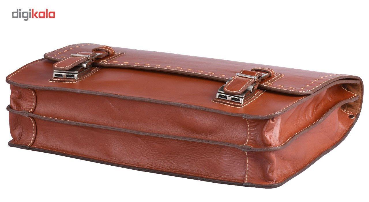 کیف اداری چرم طبیعی کهن چرم مدل L63 main 1 4