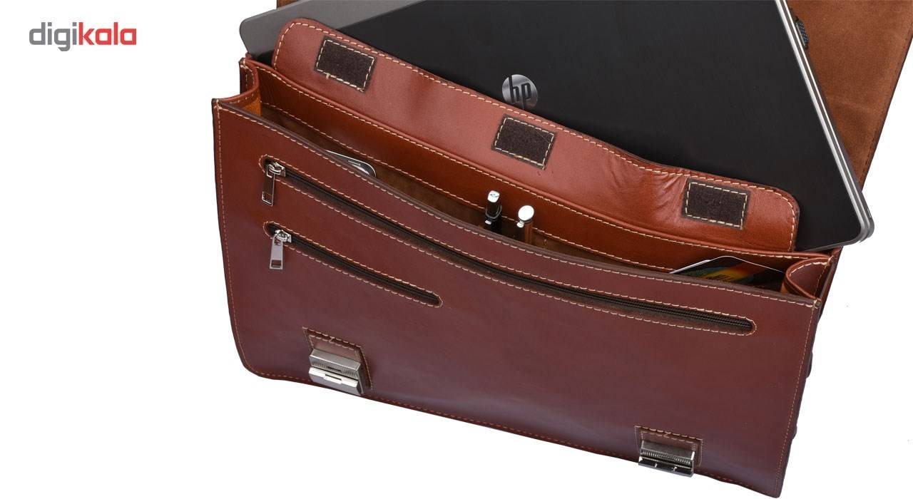 کیف اداری چرم طبیعی کهن چرم مدل L63 main 1 7