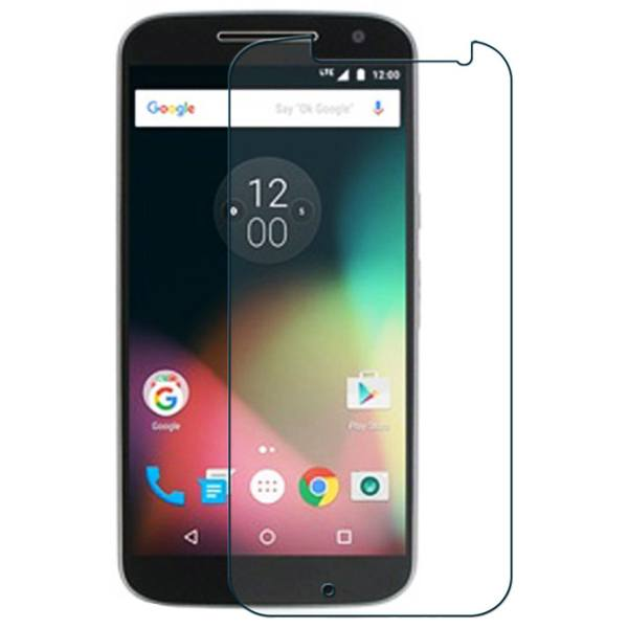 محافظ صفحه نمایش شیشه ای مدل Tempered مناسب برای گوشی موبایل موتورولا Moto G4 Play