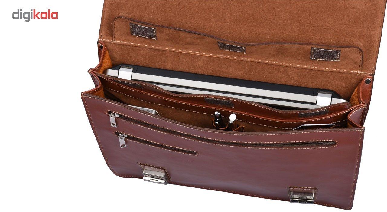 کیف اداری چرم طبیعی کهن چرم مدل L63 main 1 8