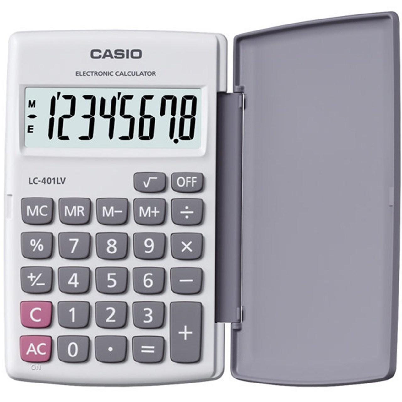 ماشین حساب کاسیو مدل LC-401LV-WE