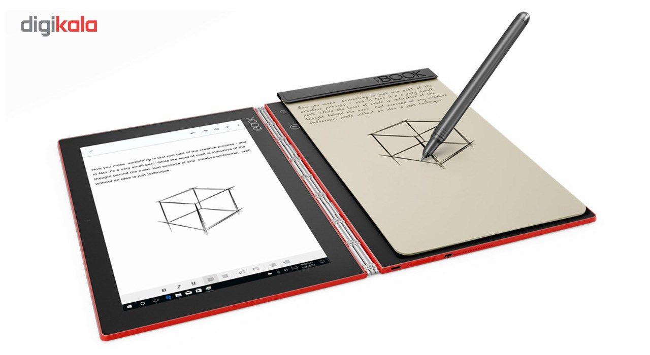 تبلت لنوو مدل Yoga Book With Windows WiFi ظرفیت 128 گیگابایت main 1 2