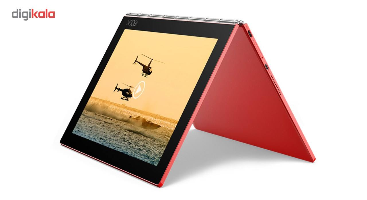 تبلت لنوو مدل Yoga Book With Windows WiFi ظرفیت 128 گیگابایت main 1 3
