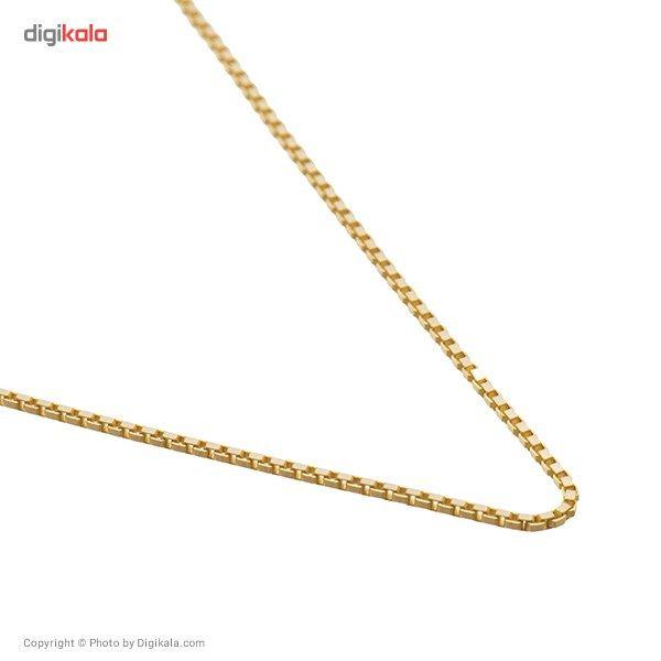 زنجیر طلا 18 عیار ماهک مدل MM0350 -  - 1