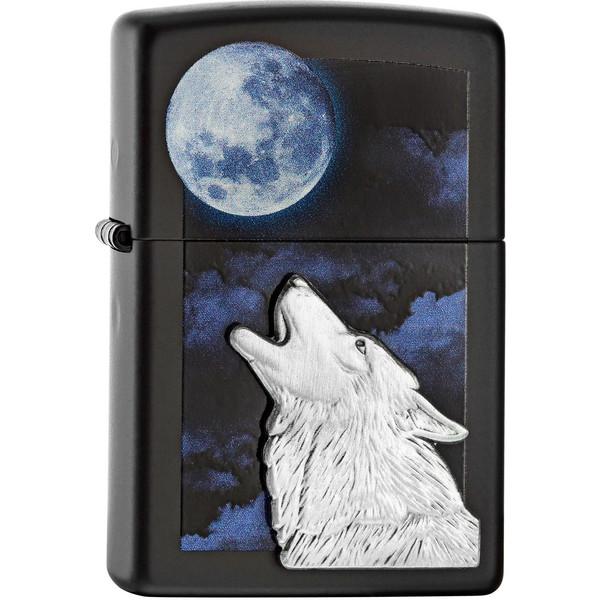 فندک زیپو مدل Howling Wolf کد 28879