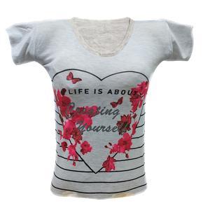 تی شرت آستین کوتاه زنانه مدل ZTGHALBZ