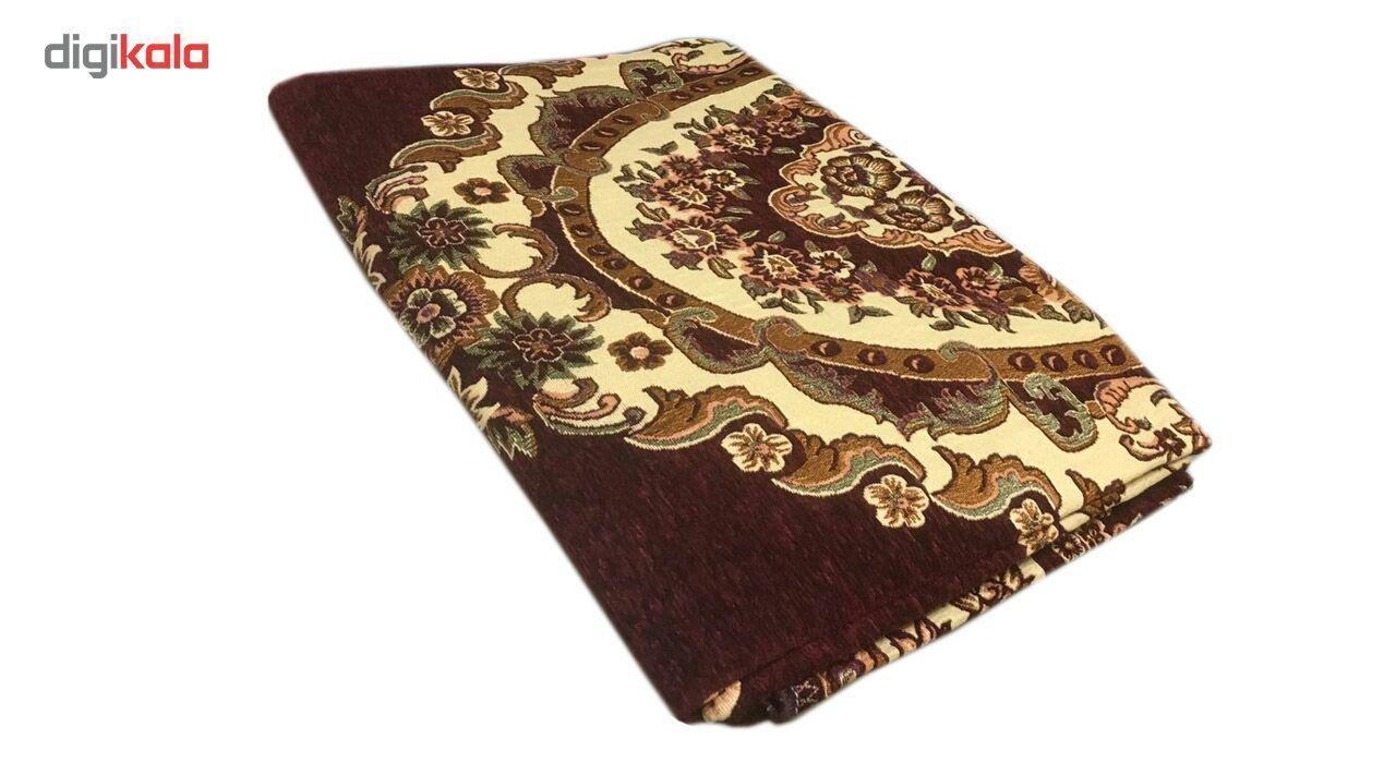 روفرشی مدل زرشکی  طرح فرش