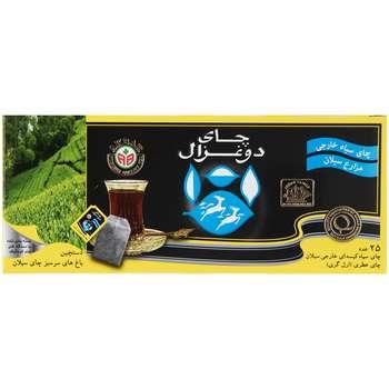 چای کیسه ای دو غزال مدل Earl Grey بسته 25 عددی
