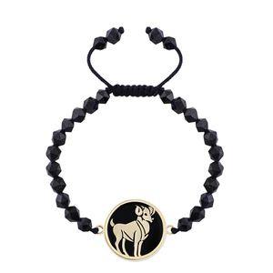 دستبند طلا 18 عیار مرجان مدل 0354
