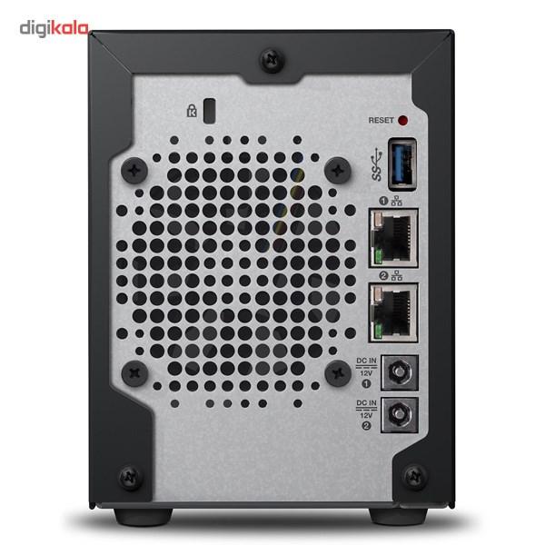 ذخیره ساز تحت شبکه وسترن دیجیتال مدل DL2100  دارای دو سینی فاقد هارددیسک