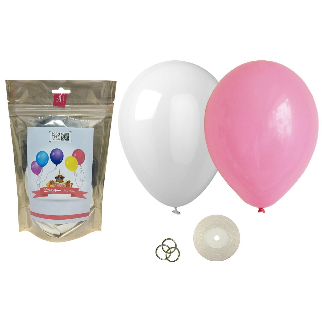 عکس پک بادکنک آرایی Helium Quality سورتک مدل STLH-15