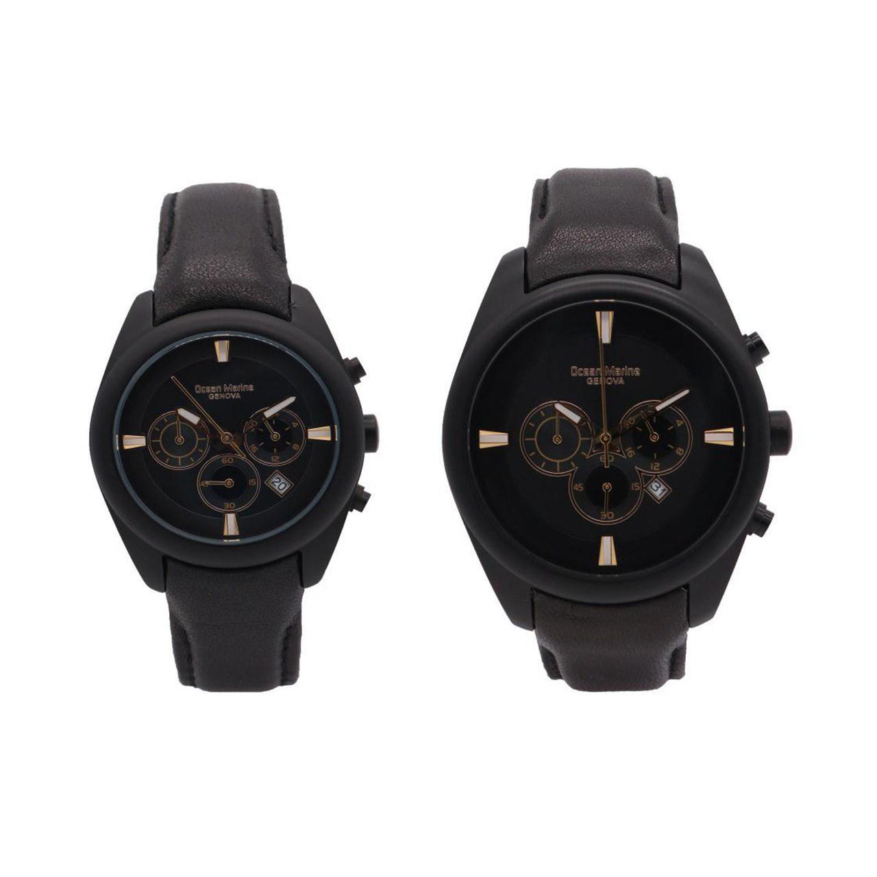 ساعت ست مردانه و زنانه اوشن مارین مدل OM-8106L-1 و OM-8106G-1