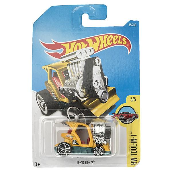 ماشین بازی متل سری هات ویلز مدل Teed Off2