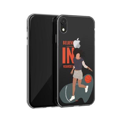کاور وینا مدل  Basketball Girl مناسب برای گوشی موبایل اپل iphone XR