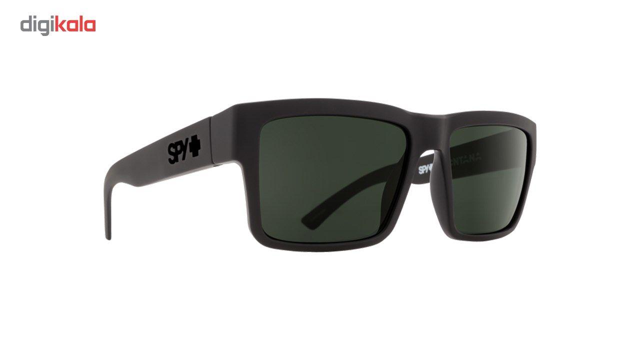 عینک آفتابی اسپای سری Montana مدل Soft Matte Black Happy Gray Green Polar -  - 2