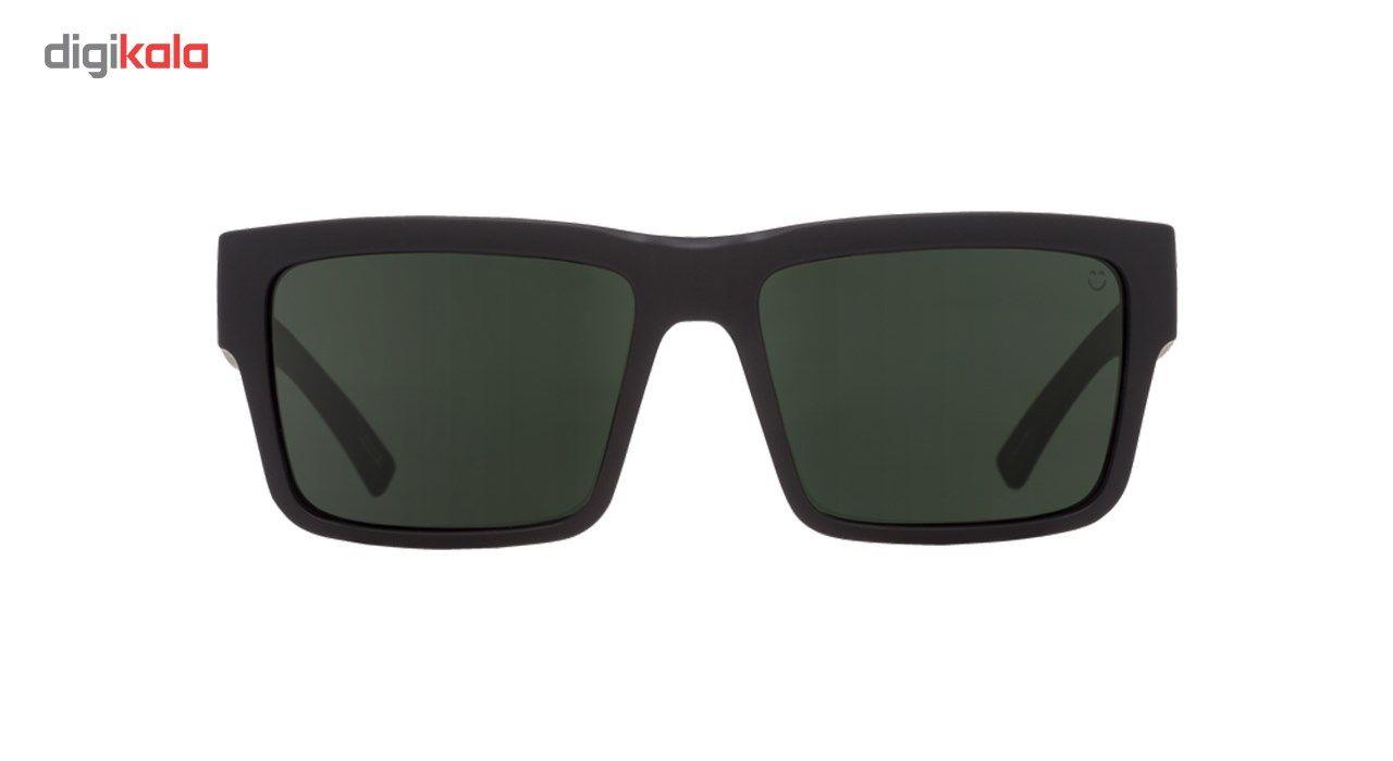 عینک آفتابی اسپای سری Montana مدل Soft Matte Black Happy Gray Green Polar -  - 4