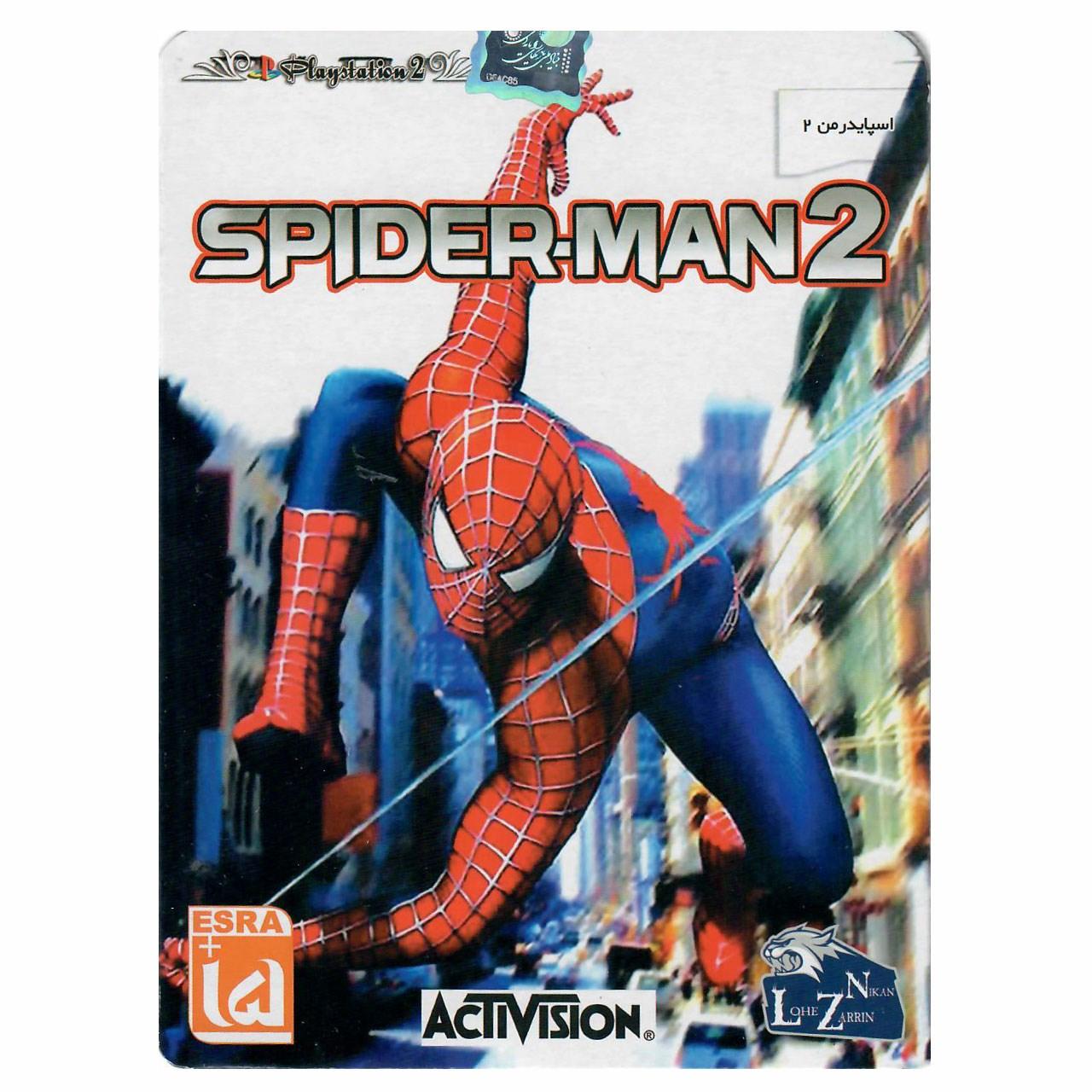 خرید اینترنتی بازی Spiderman 2 مخصوص PS2 اورجینال