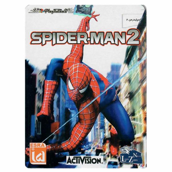 بازی Spiderman 2 مخصوص PS2