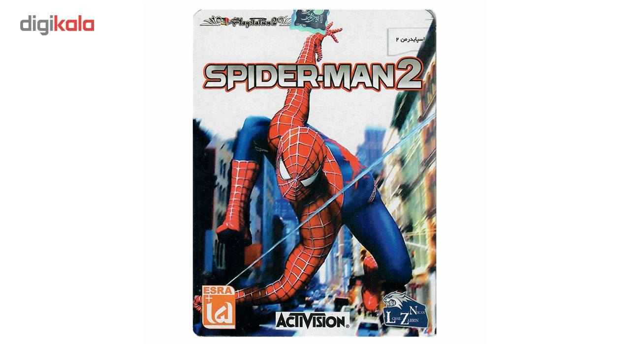 بازی Spiderman 2 مخصوص PS2 main 1 1
