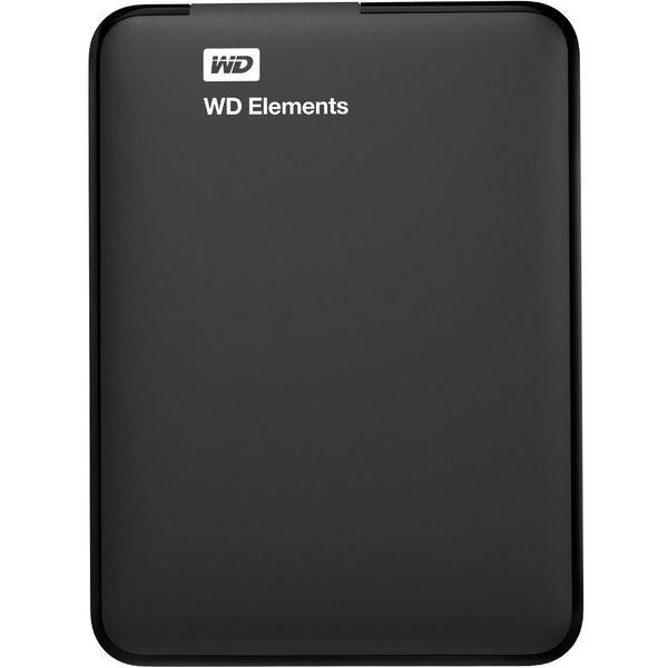 هارد اکسترنال وسترن دیجیتال مدل Elements ظرفیت 1 ترابایت | Western Digital Elements External Hard Drive - 1TB