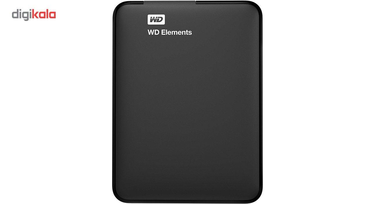 هارد اکسترنال وسترن دیجیتال مدل Elements ظرفیت 1 ترابایت  Western Digital Elements External Hard D