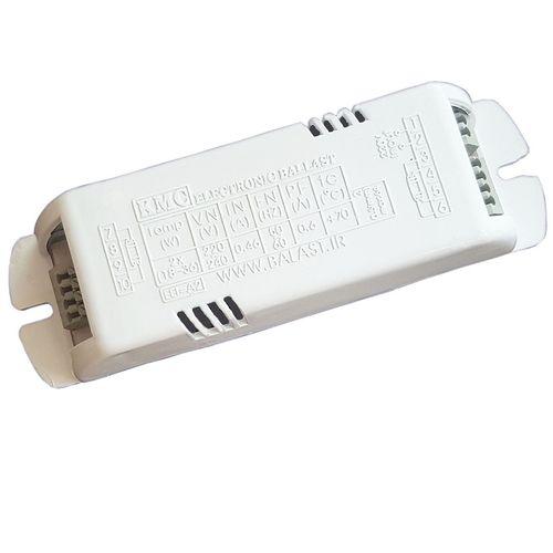 ترانس الکترونیکی 2x36 لامپ مهتابی و اف پی ال کی ام سی