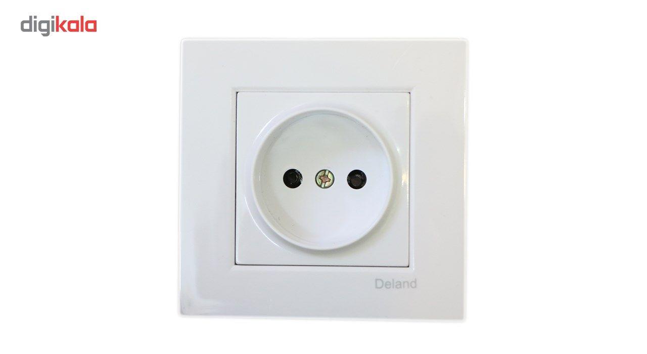 پریز برق محافظ دار دلند مدل آسا main 1 1