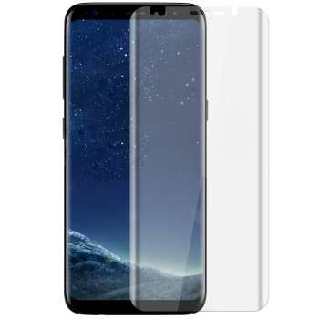 محافظ صفحه نمایش تی پی یو مات مدل Full Cover مناسب برای گوشی موبایل سامسونگ Galaxy S8 Plus